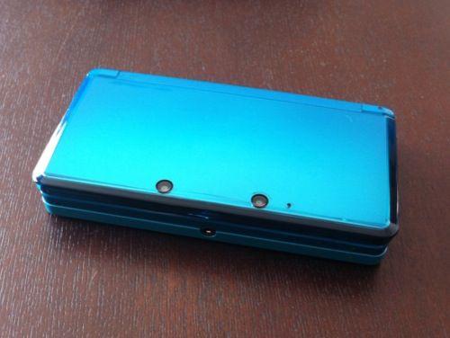 ニンテンドー 3DS アクアブルー