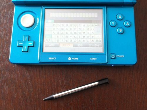 3DS タッチペン