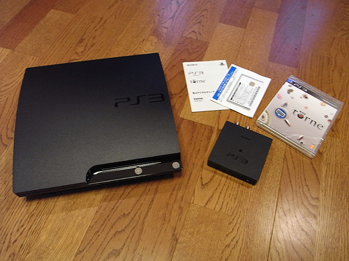 PS3とtorne