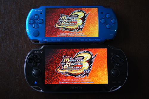 PSPとPS Vita