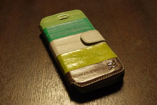 うなぎ革のiPhone5ケース「ZENUS Prestige Eel Leather」