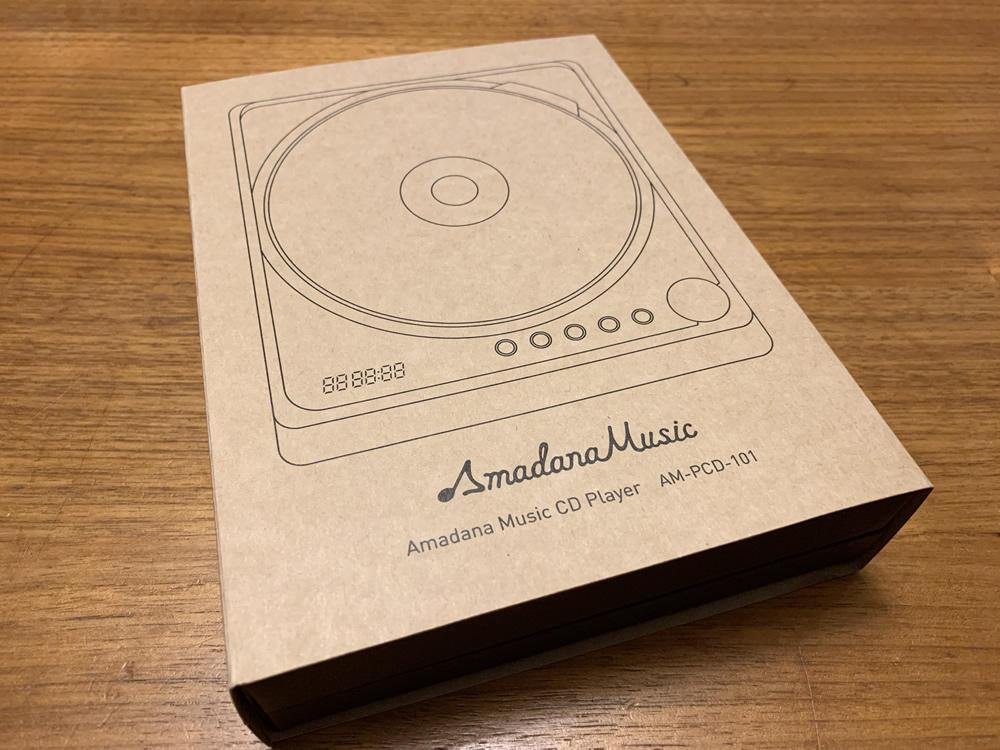 Amadana Music CD プレーヤー / C.C.C.D.P.(シーシーシーディーピー)の箱
