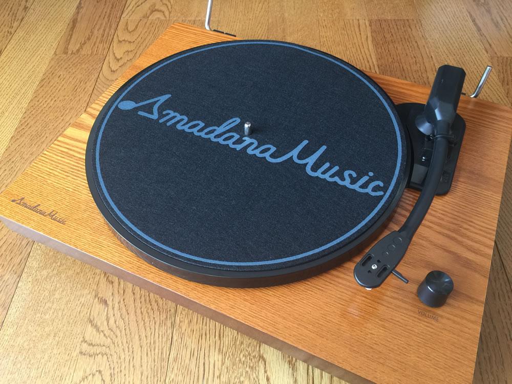 Amadana Music スピーカー内蔵レコードプレーヤー「SIBRECO」