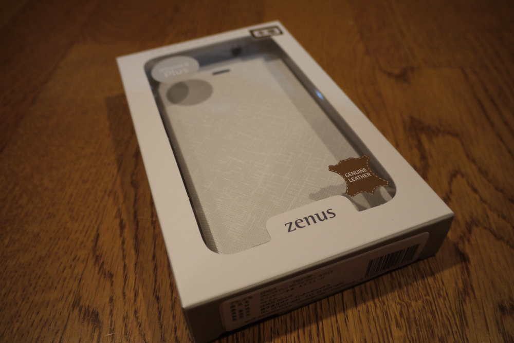 ZENUS「iPhone 6 Plus Minimal Diary」の箱