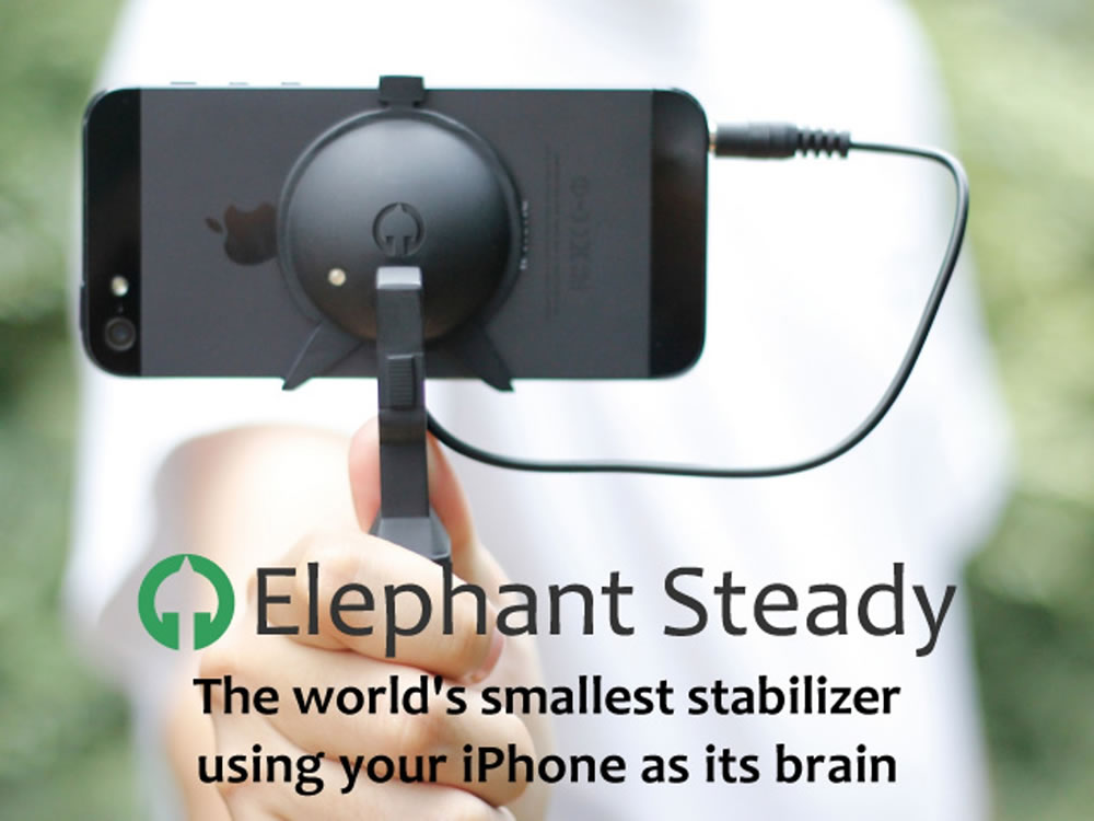 Elephant Steady - Smallest stabilizer ever for iPhone!