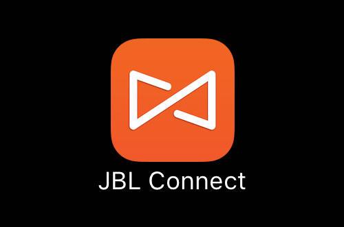 アプリ「JBL Connect」