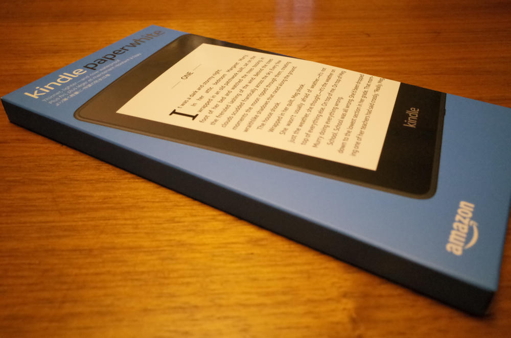 「Kindle Paperwhite」の箱