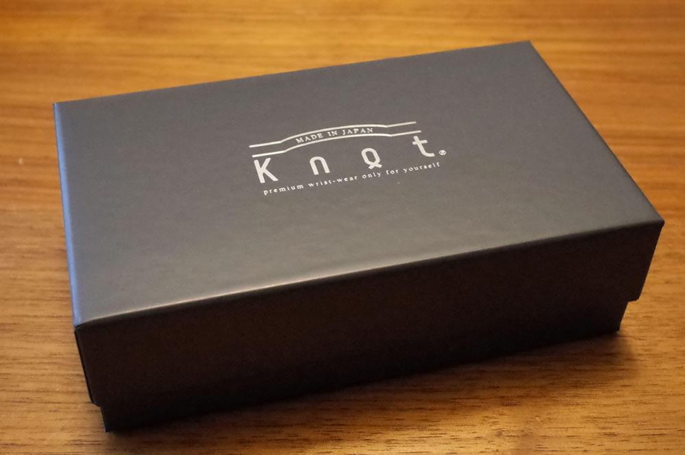 1万円代からカスタムオーダーできる「MADE IN JAPAN」の腕時計「Knot(ノット)」の箱