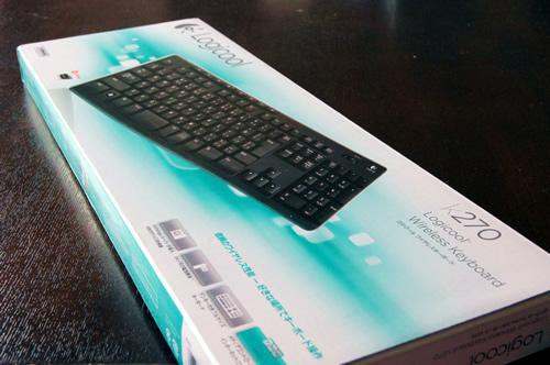 ロジクール ワイヤレスキーボード K270