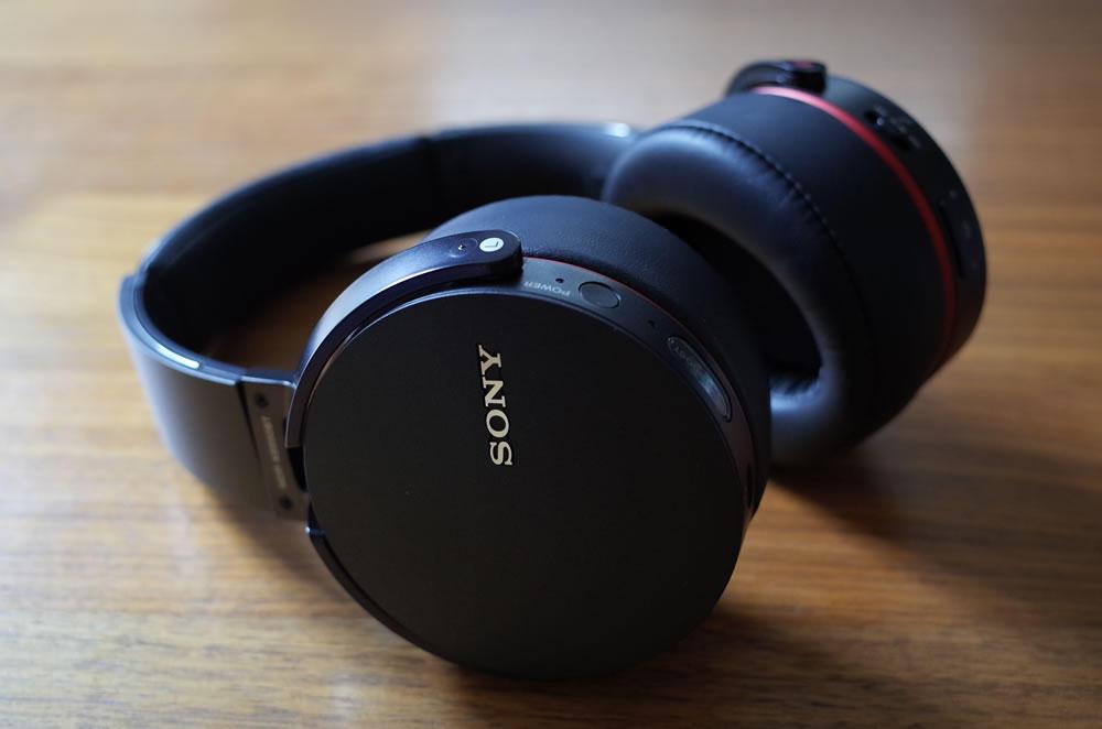 ワイヤレスステレオヘッドセット SONY「MDR-XB950BT」